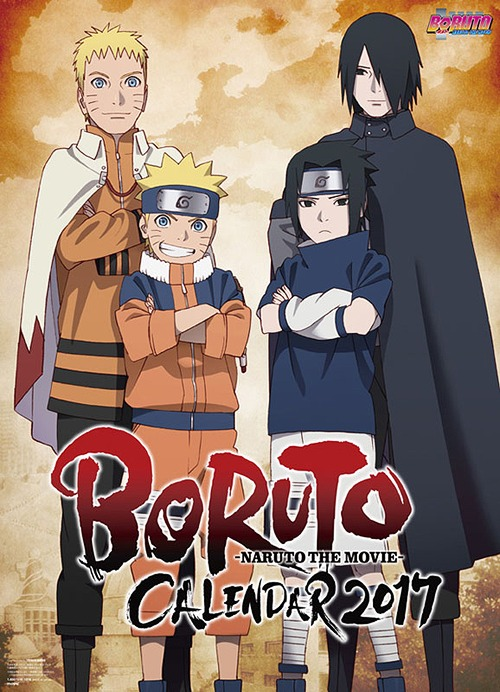 Boruto - Naruto the Movie - Calendar