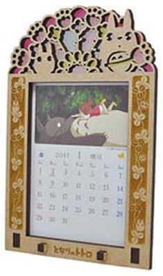 My Neighbor Totoro Stained Frame Calendar