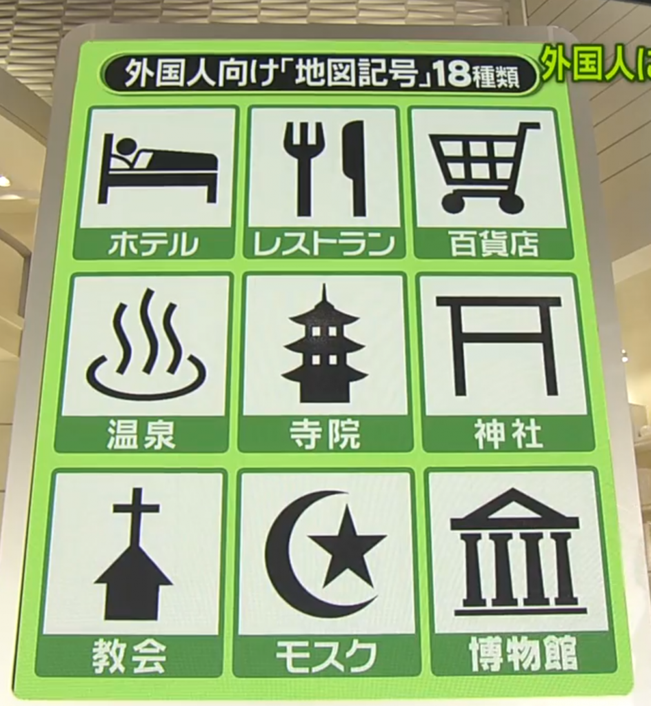 New Japanese map symbols 2